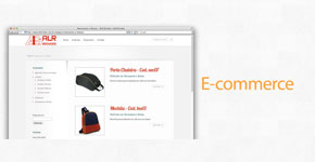 Desenvolvimento de e-commerce para venda de brindes