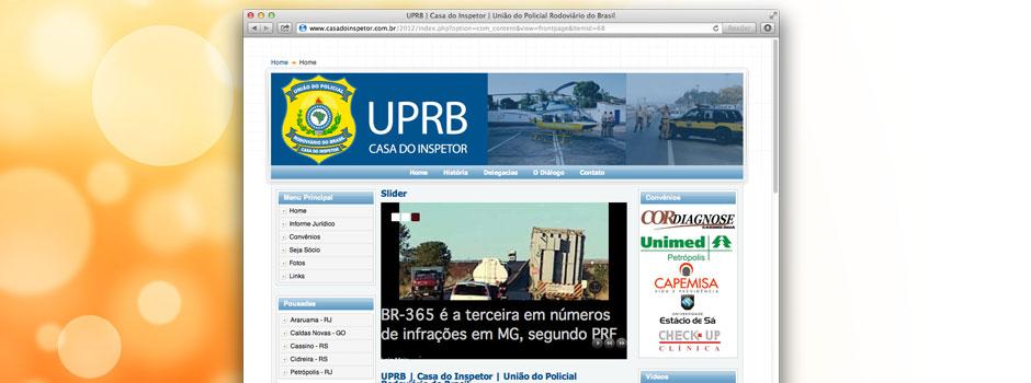 Reformulação de site  em Petrópolis para Casa do inspetor